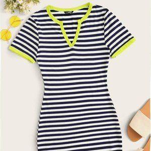 Dresses & Skirts - Blue Stripped Dress